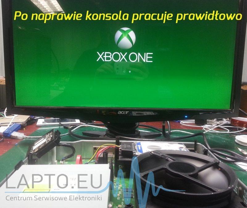 Naprawa konsoli Xbox One po zalaniu